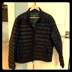 Tommy Hilfiger down jacket, light weight, packable